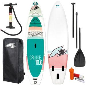 Felfújható női Windsurf SUP F2 Cruise